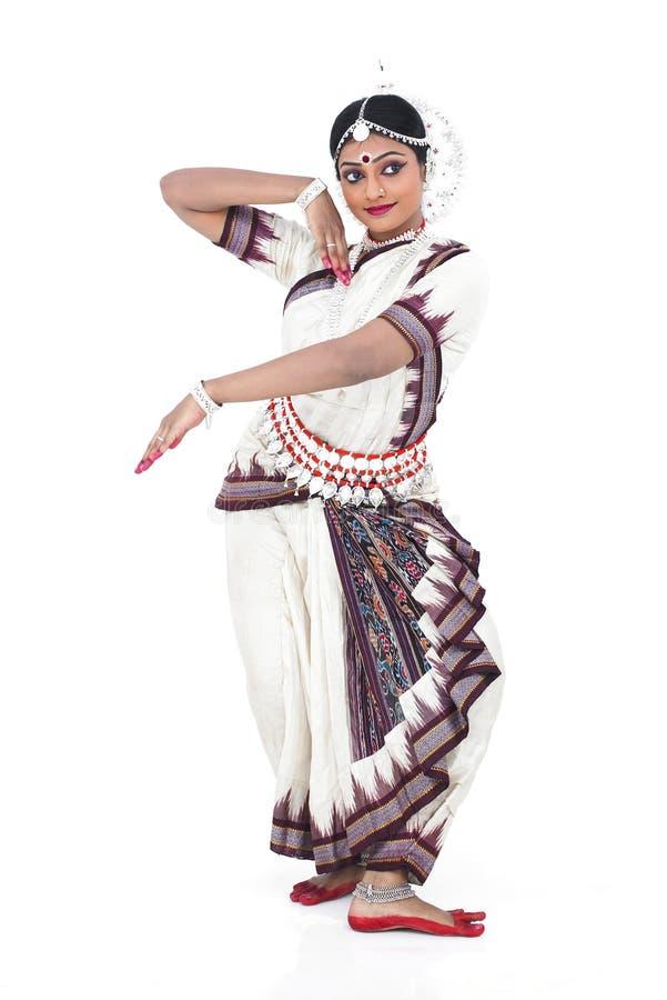 Indien féminin de danseur classique image stock