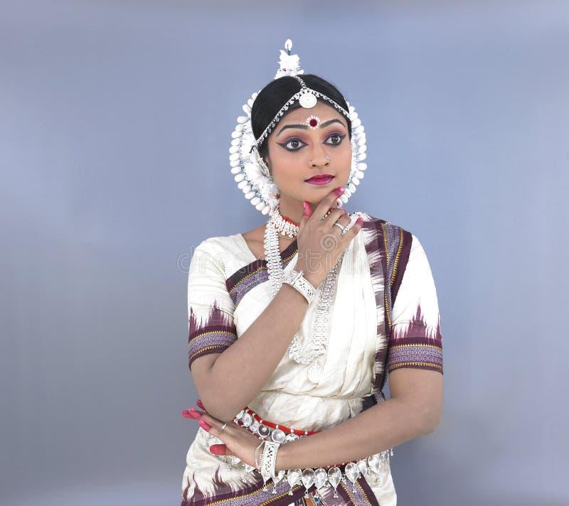 Indien féminin de danseur classique photo libre de droits