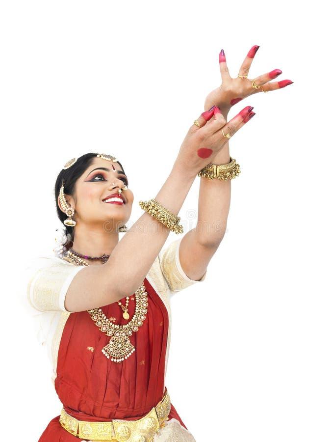 Indien féminin de danseur classique photo stock
