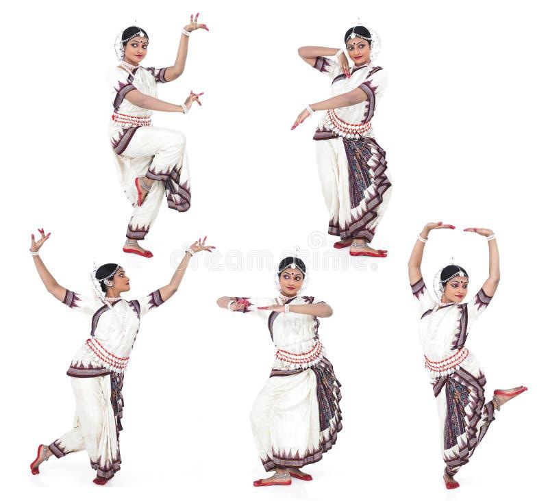 Indien féminin de danseur classique photographie stock libre de droits