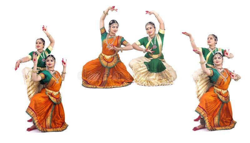 Indien féminin de danseurs classiques photos stock