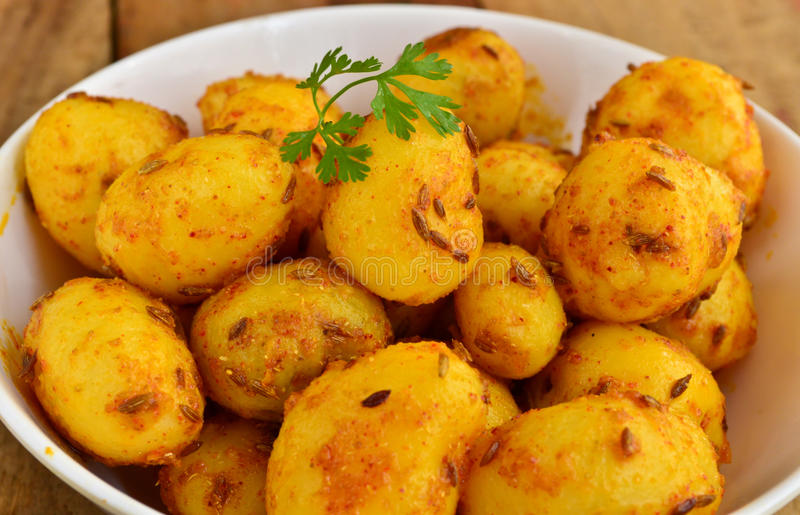 Indien Fried Potato photos stock