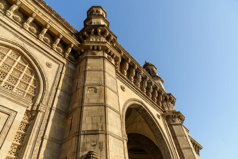 Indien-Gateway in Mumbai Indien lizenzfreies stockbild