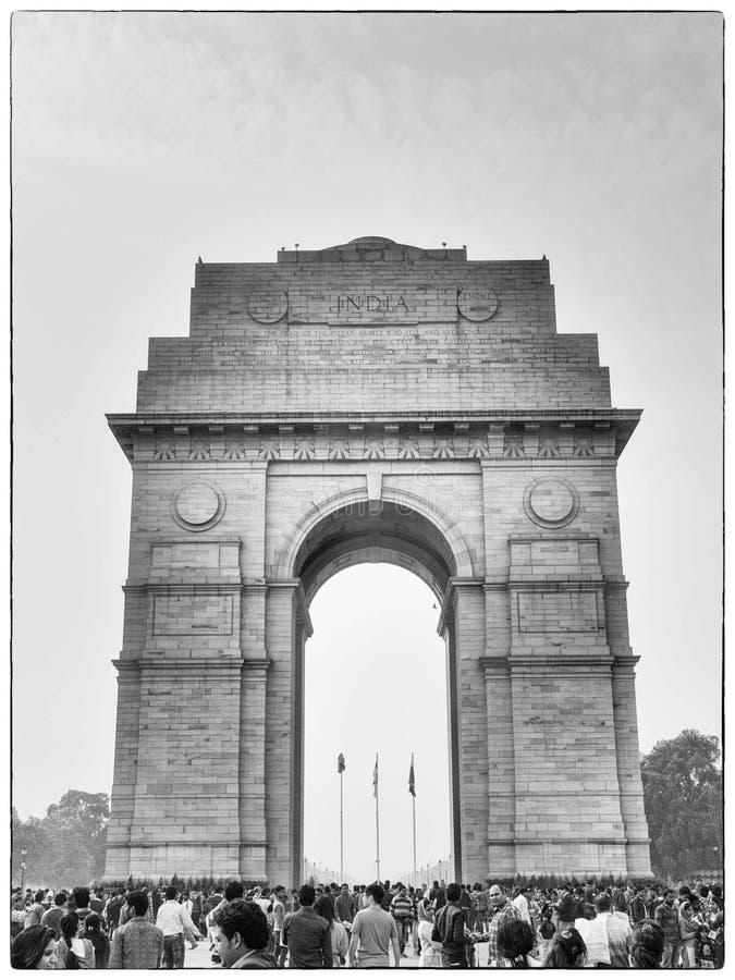 Indien-Gatter Delhi lizenzfreie stockfotografie