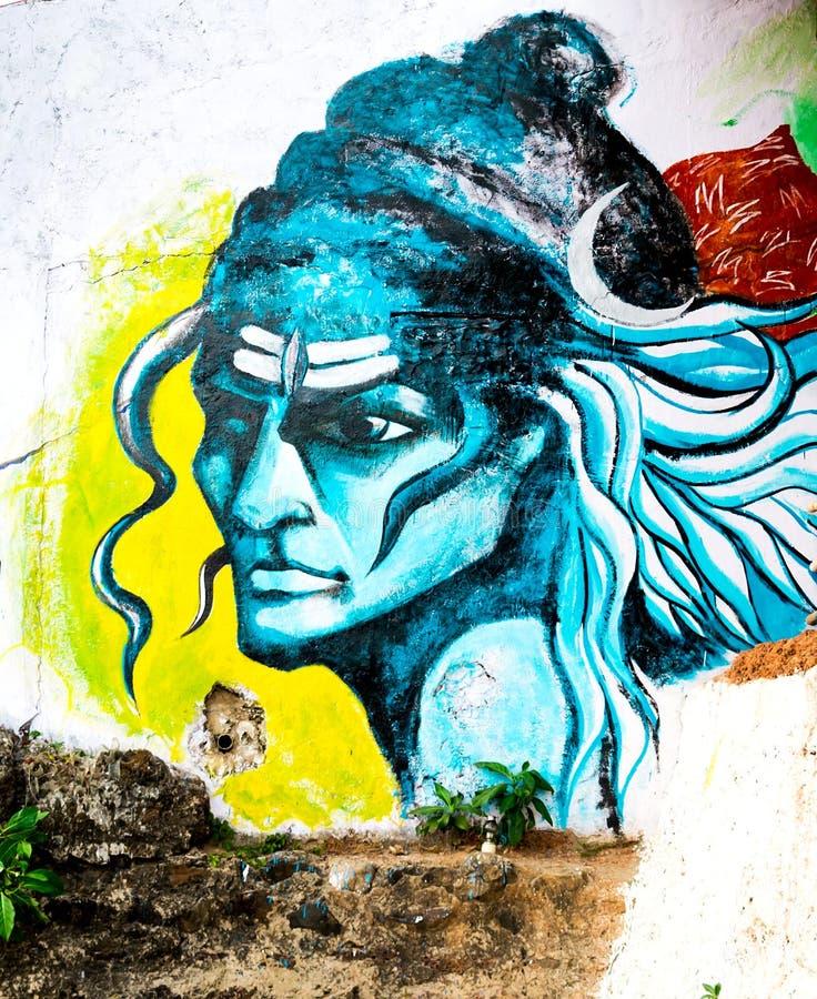 Indien, Goa, Vagator-Strand stockbilder