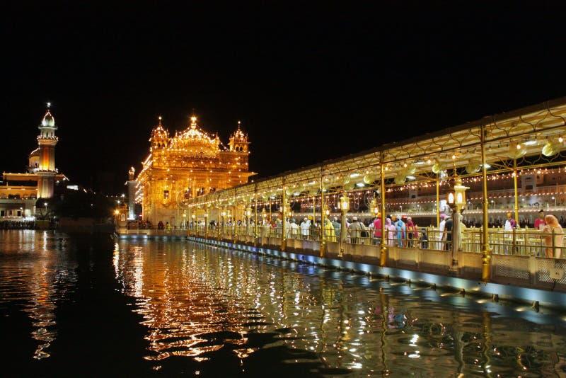 INDIEN, Goldem-Tempel amritsar stockbild