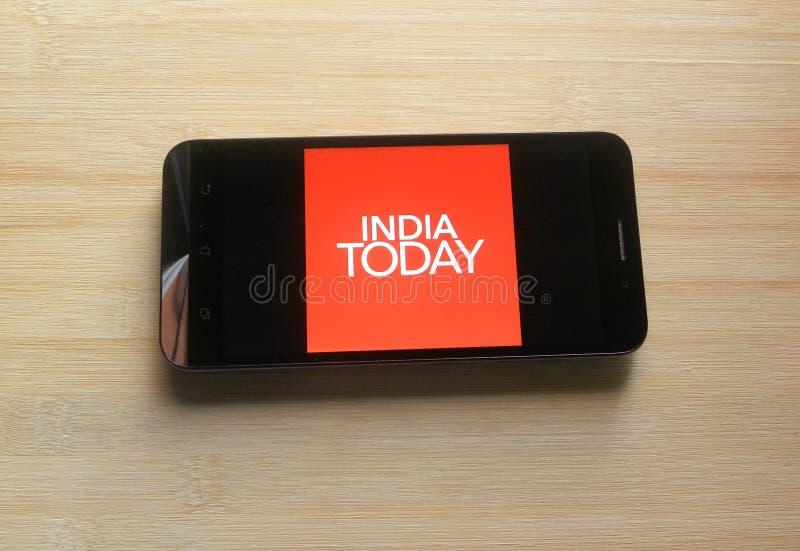 Indien i dag arkivbilder