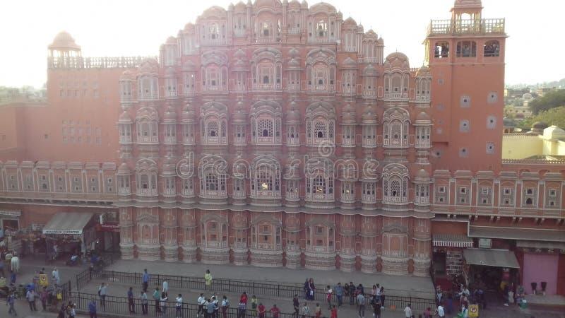 Indien Jaipur Die rosa Stadt lizenzfreie stockfotos