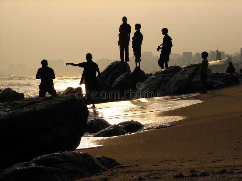 Indien-Kinder stockbilder