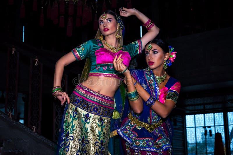 Indien-Mädchen stockfotos