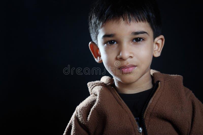 Indien mignon Little Boy images libres de droits