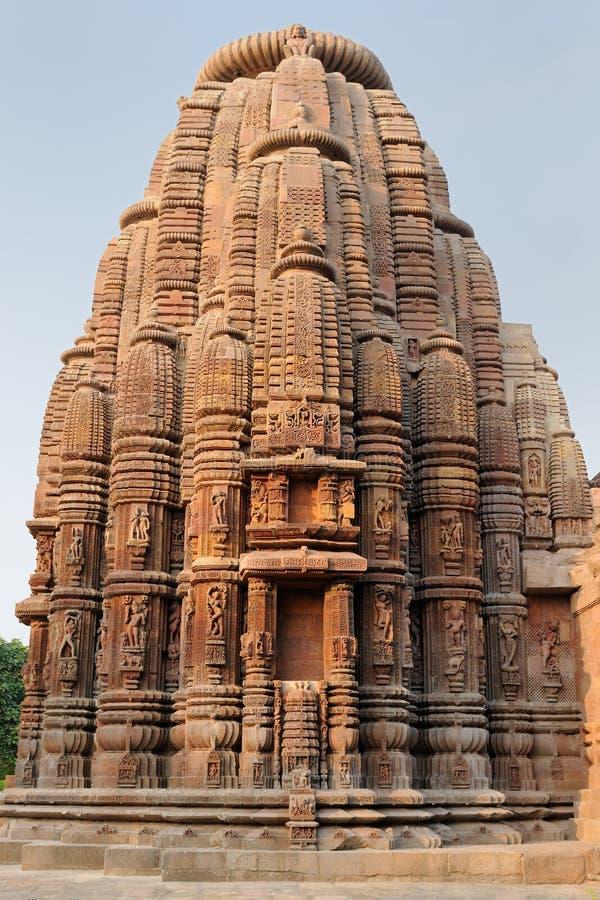 Indien Muktesvara tempel i Bhubaneswar royaltyfri fotografi