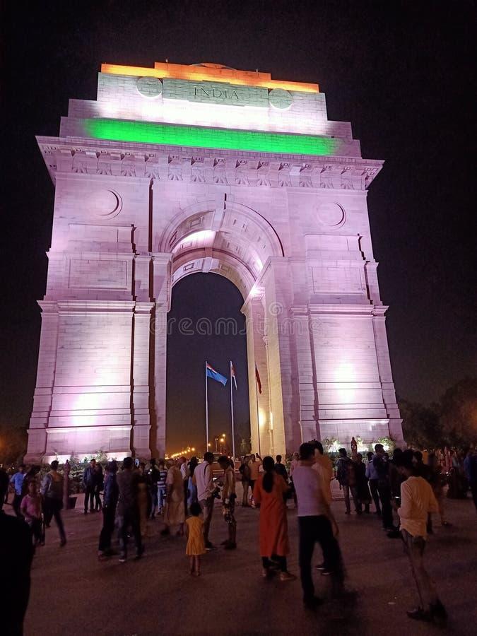 Indien-Tor in Delhi stockfoto