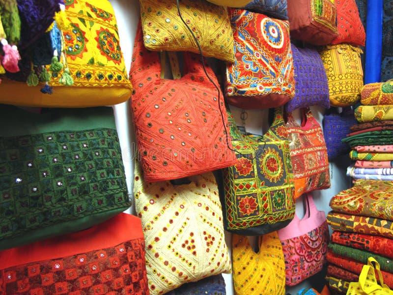Indien-Traditionelle Beutel stockbilder
