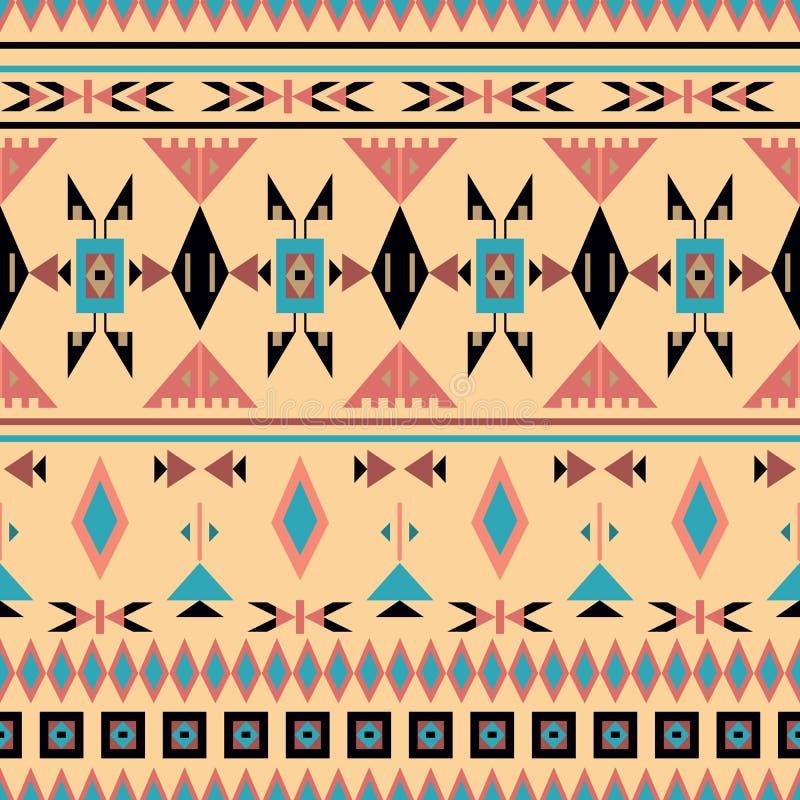 Indiens d'Amerique, modèle sans couture, illustration de vecteur illustration de vecteur