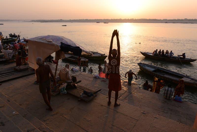 Indiens heilige Stätte lizenzfreies stockbild