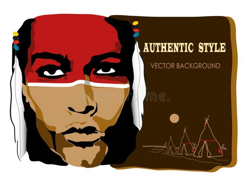 indier vektor illustrationer
