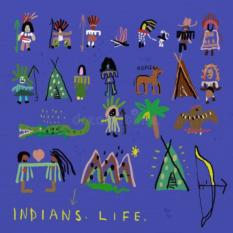 indier stock illustrationer