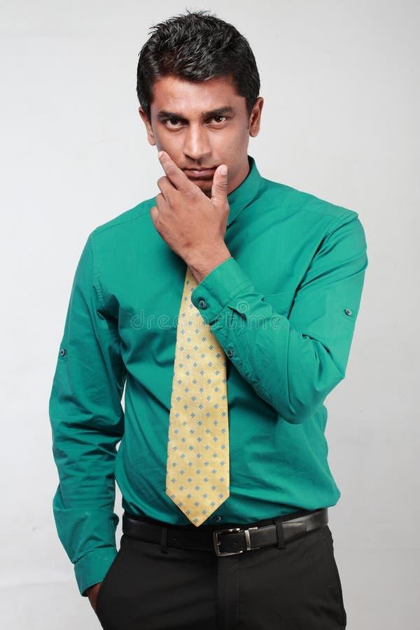 indier för affärsledare royaltyfria foton