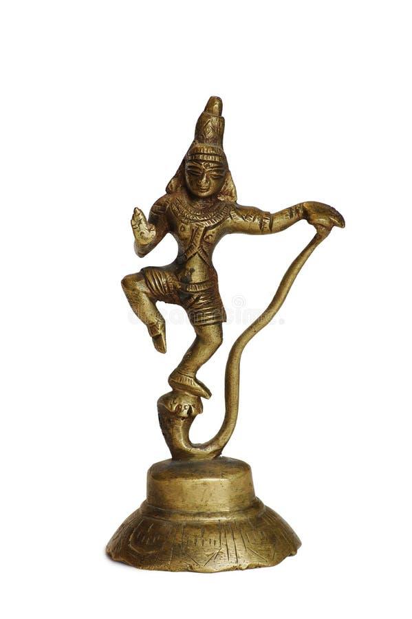 indier isolerad staty royaltyfria bilder