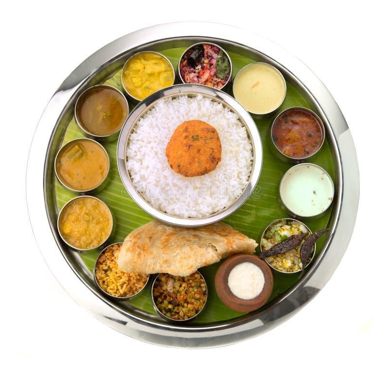 Indier Thali royaltyfri foto