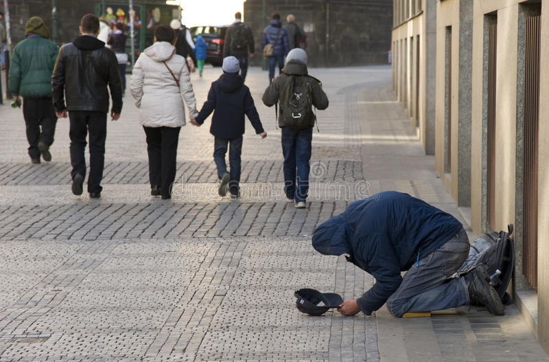 Download Indifferent city. editorial image. Image of lonely, homeless - 24194610