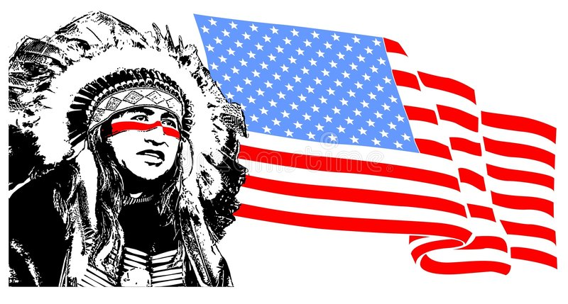 indigène illustration de vecteur