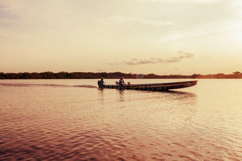 Indigènes dirigeant, Amérique du Sud photographie stock