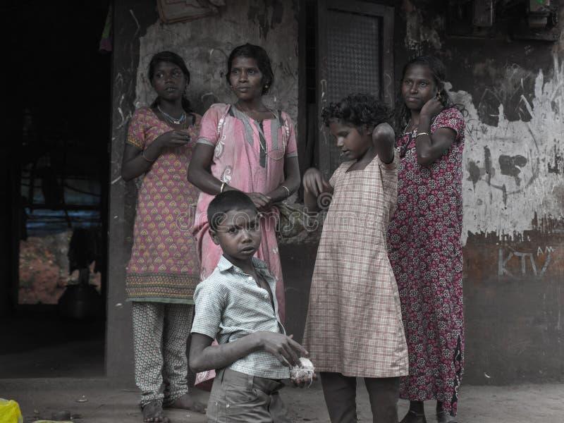 Indigènes du Kerala photo libre de droits