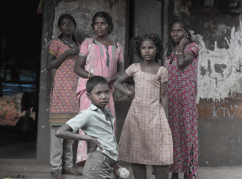 Indigènes du Kerala photographie stock libre de droits