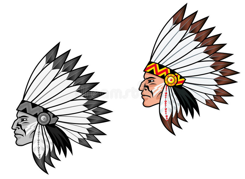 Download Indigenous people stock vector. Image of american, decoration - 20450676