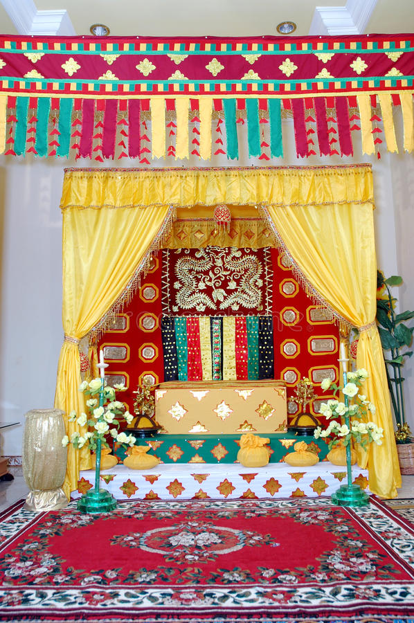 Download Indigenous Traditional Wedding Stock Image - Image of decoration, inside: 27403941