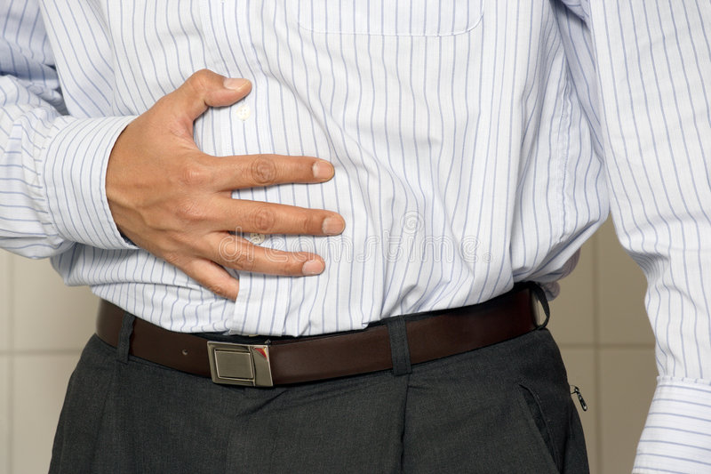 Indigestie stock afbeeldingen