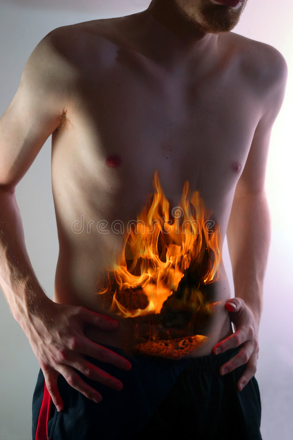 Download Indigestion_3499}01. stock image. Image of dyspepsia, trapped - 1865367