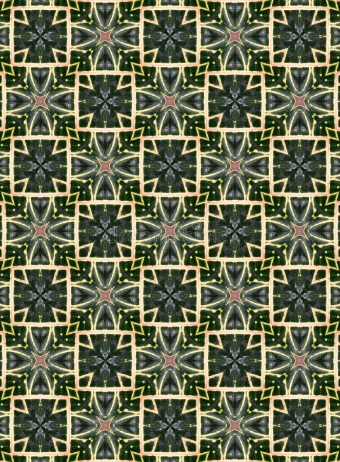 Indigo geometrisch patroon in combinatie met wit en lichtroze, geschikt als een monster van textiel, tegels, behangselpapier, web stock afbeeldingen
