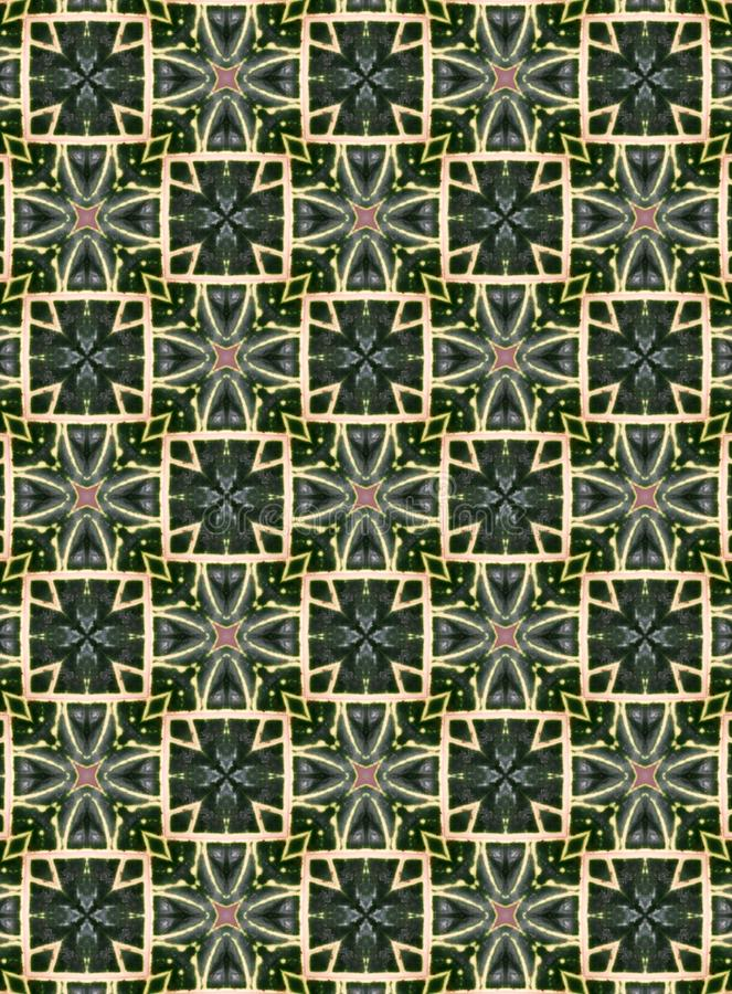 Indigo geometrisches Muster in Kombination von weiß und hellrosa geeignet als Beispiel für Textilien, Fliesen, Tapeten, Webseiten stockbilder