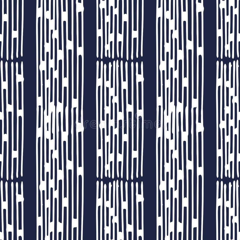 Indigo japanese pattern29 stock illustration