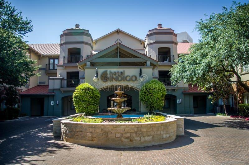 Indigo San Antonio - hôtel d'hôtel de boutique à chaînes d'IHG photos stock