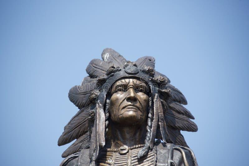 Indio del nativo americano foto de archivo libre de regalías