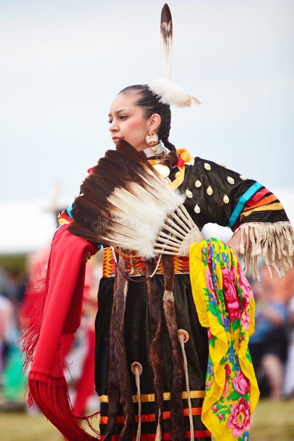 Indio del nativo americano imágenes de archivo libres de regalías