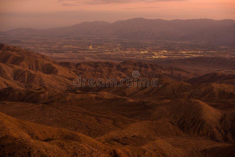 Indio i Coachella miasto obrazy royalty free