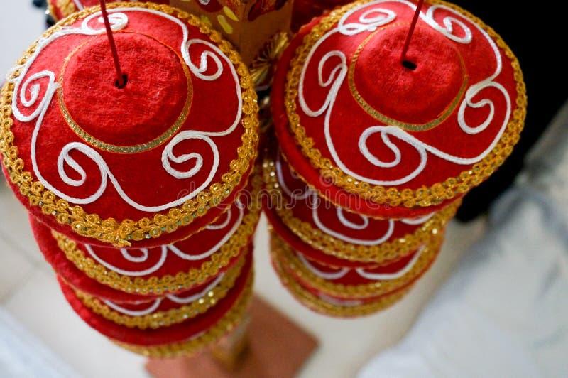 Indio tradicional Manda usado en bodas fotos de archivo libres de regalías