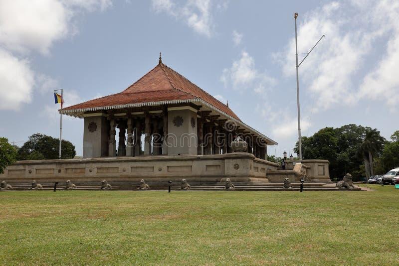 Indipendenza Corridoio di Colombo nello Sri Lanka fotografia stock