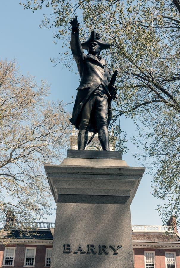 Indipendenza Corridoio a Philadelphia fotografie stock libere da diritti