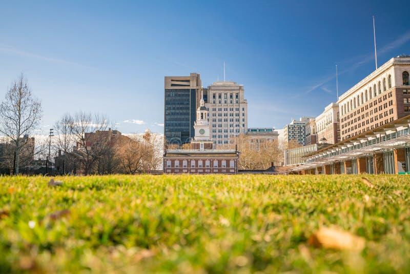 Indipendenza Corridoio a Philadelphia, Pensilvania fotografia stock libera da diritti
