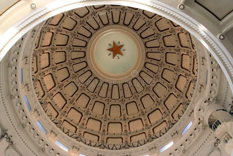 Indiquez la construction de capitol à Austin du centre, le Texas image libre de droits