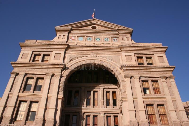 Indiquez la construction de capitol à Austin du centre, le Texas photos libres de droits