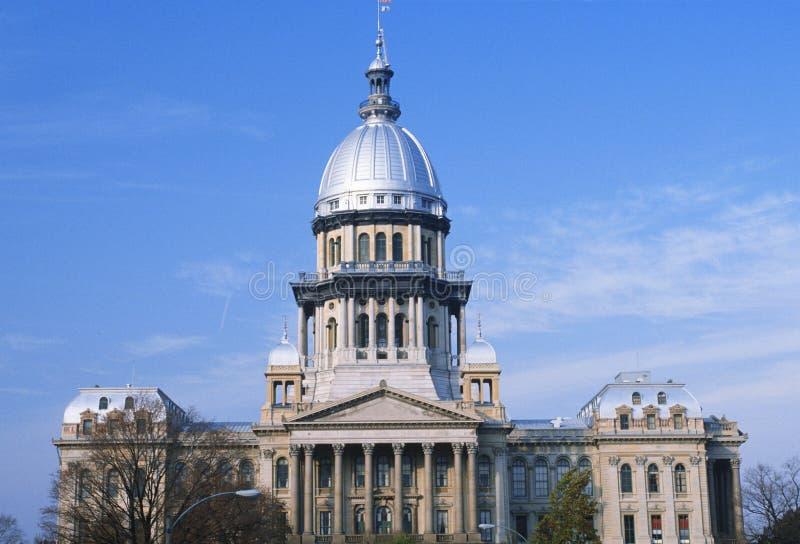 Indiquez Le Capitol De L Illinois Photo libre de droits