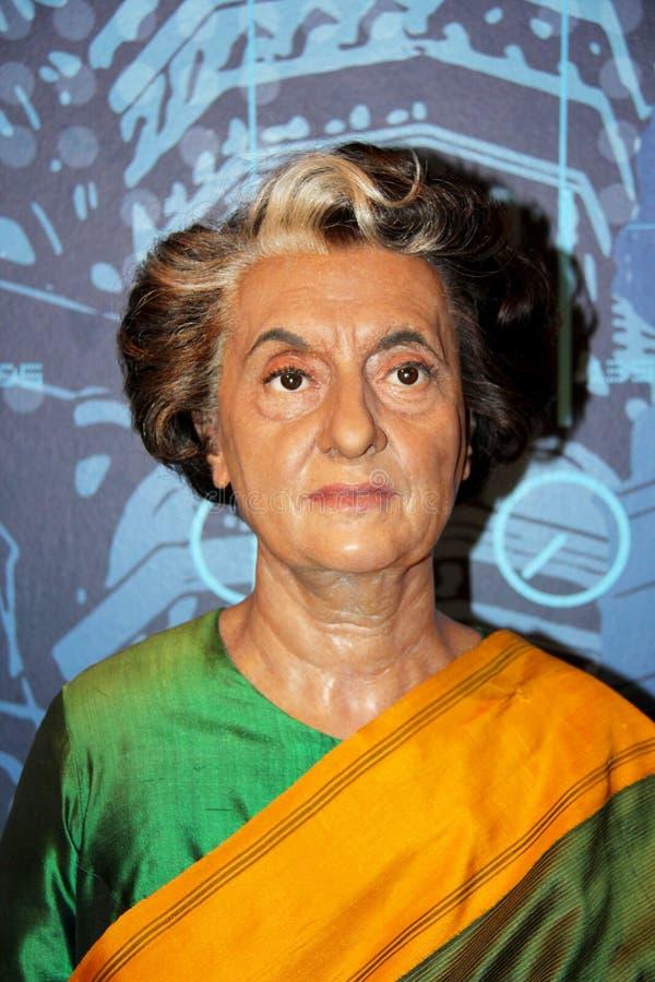 Indira Gandhi royaltyfri fotografi