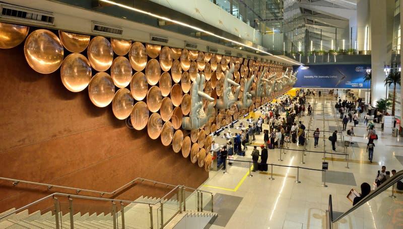 Indira Gandhi International Airport stockbilder